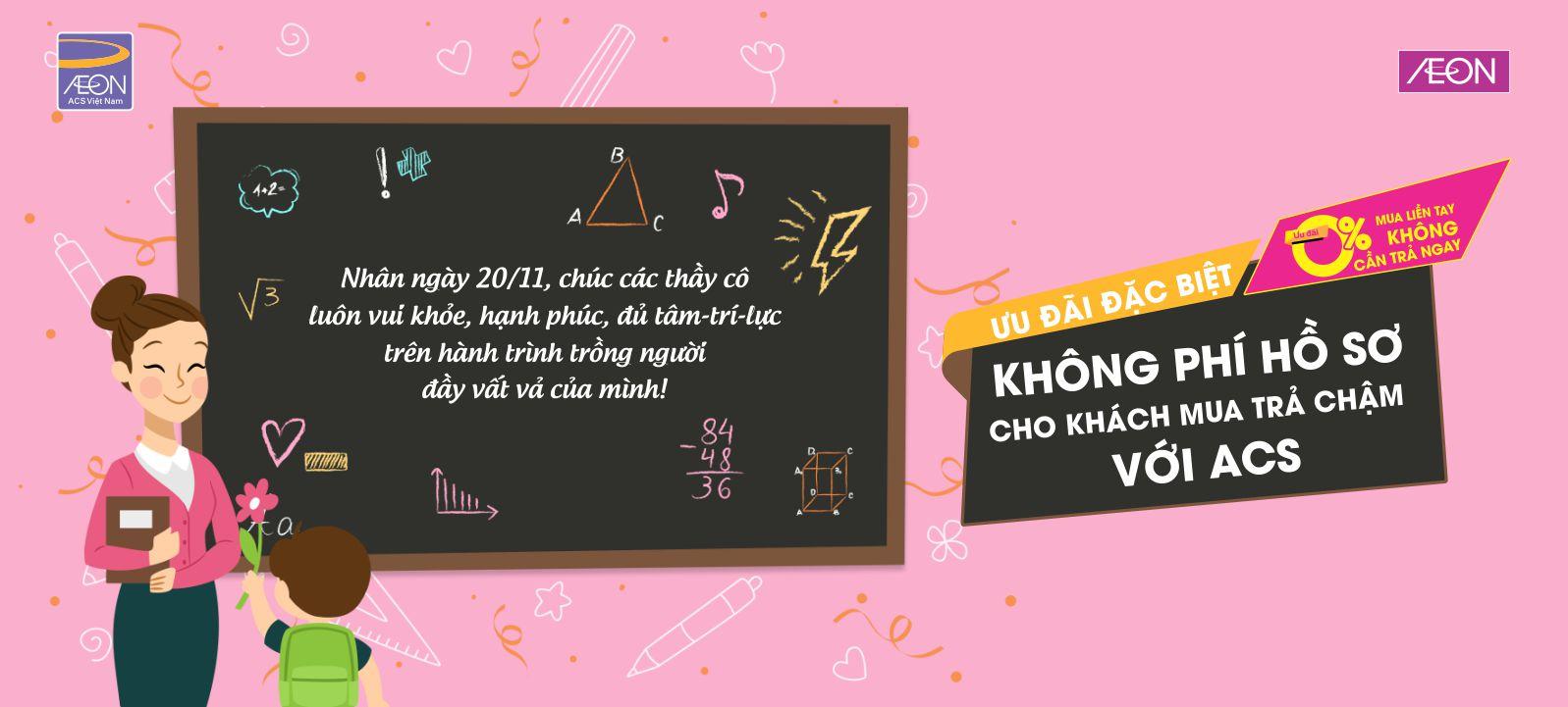 Nhân ngày 20/11, chúc các thầy cô luôn vui khỏe, hạnh phúc, đủ tâm-trí-lực trên hành trình trồng người đầy vất vả của mình!